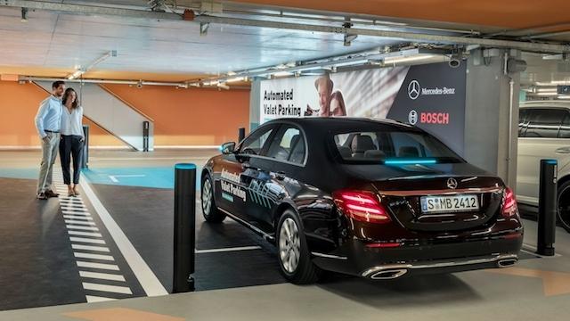Mercedes'ten Otomatik Vale Hizmeti Geliyor