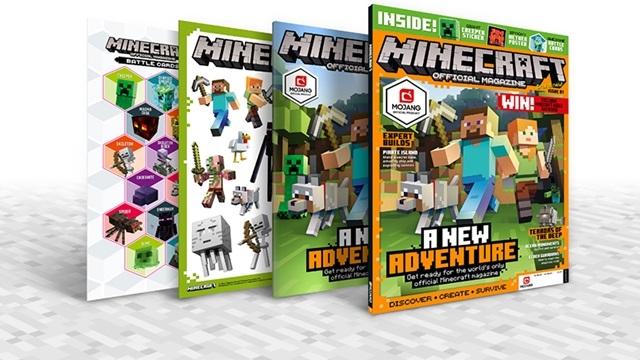 Minecraft'ın Resmi Dergisi Çıkış Yapıyor