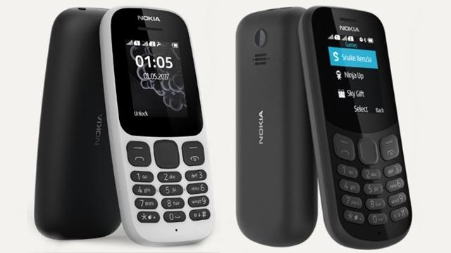 Nokia 130 ve Nokia 105 Tanıtıldı