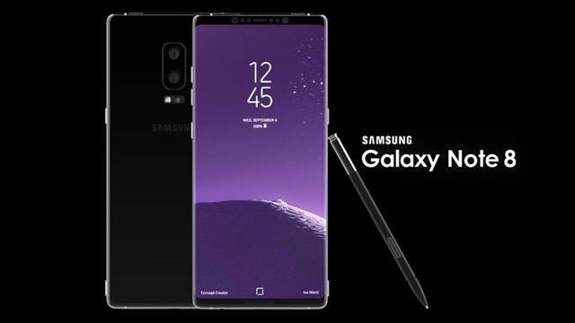 Samsung Galaxy Note 8'in Çıkış Tarihi Belli Oldu