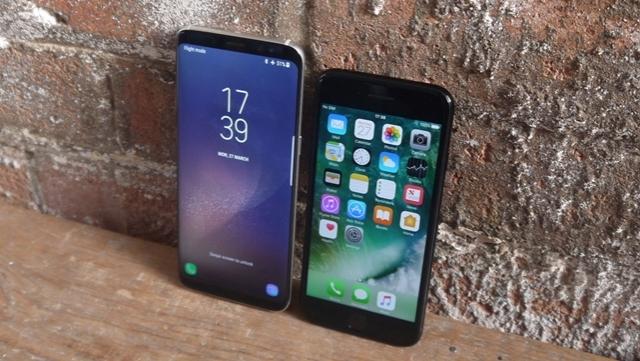 Samsung S8, iPhone 7 Satışlarını Etkilemiyor