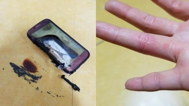Samsung Galaxy S7, Şarj Olurken Ateş Aldı!