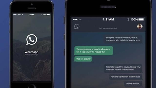 WhatsApp'a Gece Modu Özelliği Geliyor