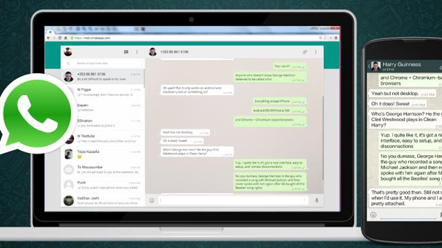 WhatsApp Web'e İki Yeni Özellik Geldi