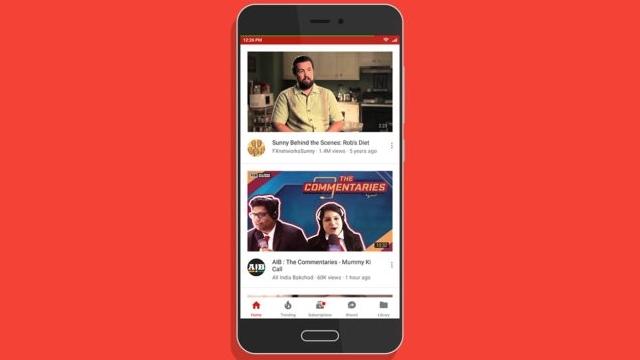 YouTube'da Video Hızını Ayarlama Telefonlara Geliyor