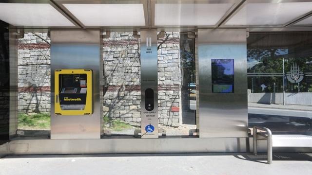İstanbul'a Akıllı Otobüs Durakları Geliyor