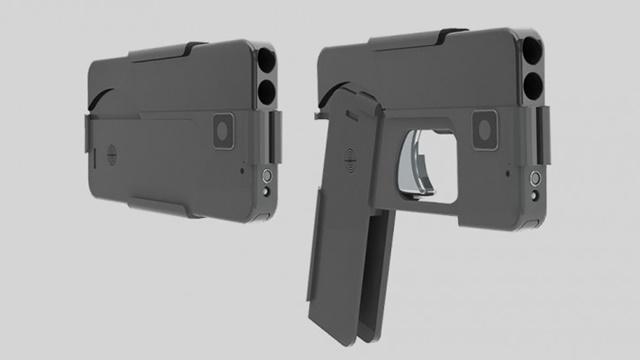 Akıllı Telefon Gibi Görünen Casus Silahı