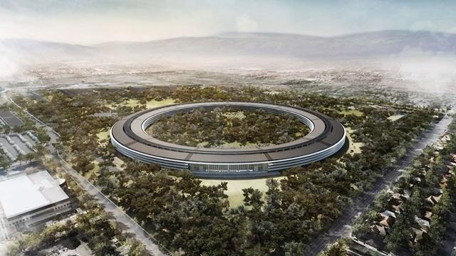 Apple Yeni Kampüsünü Gösteren Bir Video Yayınladı