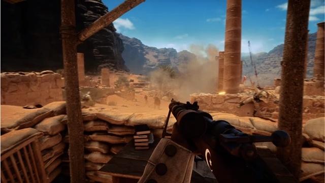 Battlefield 1'de Osmanlı Askerleri İlk Kez Göründü