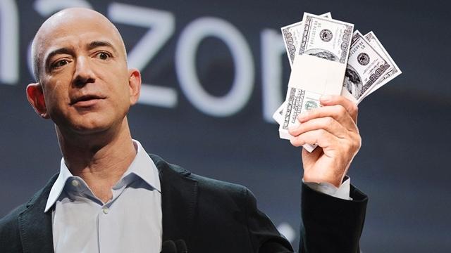 Amazon'un Sahibi Jeff Bezos, Bill Gates'i Tahtından İndirmek Üzere