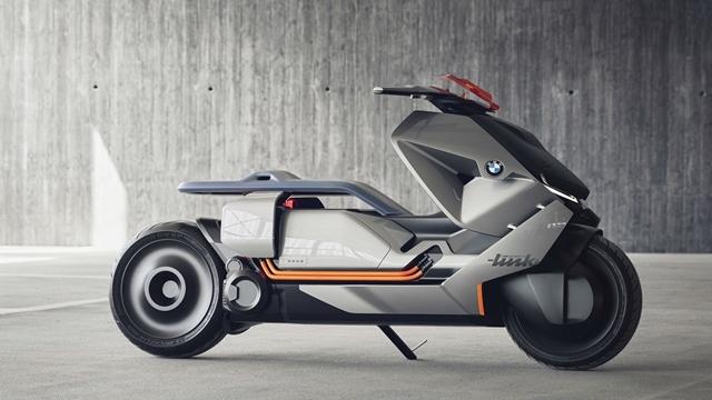 BMW'nin Yeni Konsept Motosikleti Göz Kamaştırıyor