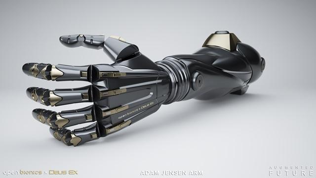 Deus Ex Serisinin Protez Kolu Gerçek Oluyor