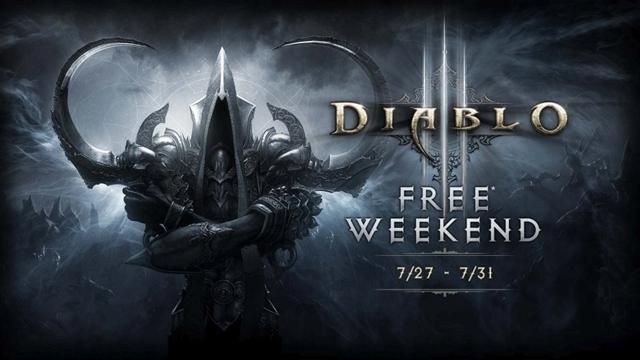Diablo 3, Bu Hafta Sonu Xbox One için Ücretsiz!