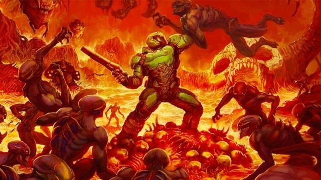 DOOM'un PS4 ve Xbox One Grafikleri Karşılaştırıldı