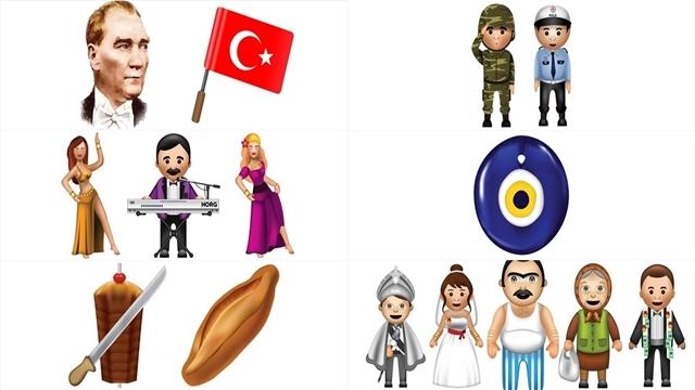 Türk Kullanıcılara Özel Emojiler Geldi