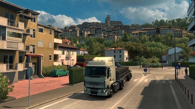 Euro Truck Simulator 2 İtalya Yollarında