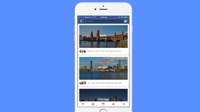 Facebook, Şehir Rehberi Özelliğini Devreye Almaya Hazırlanıyor