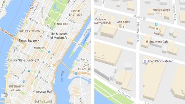 Google Maps Daha Sade ve Anlaşılabilir Olacak