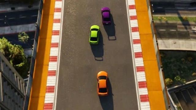 GTA Online'ın Mini Yarışlarından Yeni Video Geldi