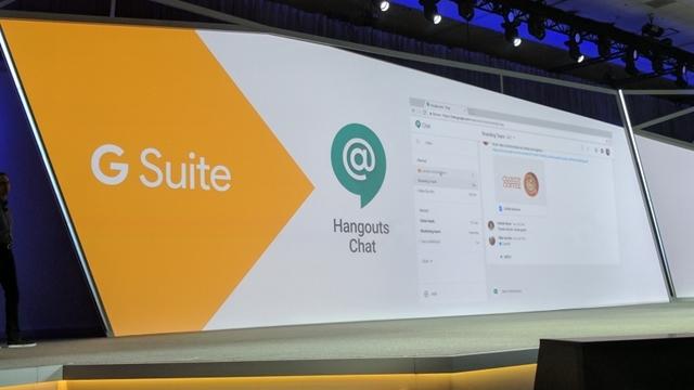 Google, Hangouts Meet ve Hangouts Chat Servislerini Duyurdu