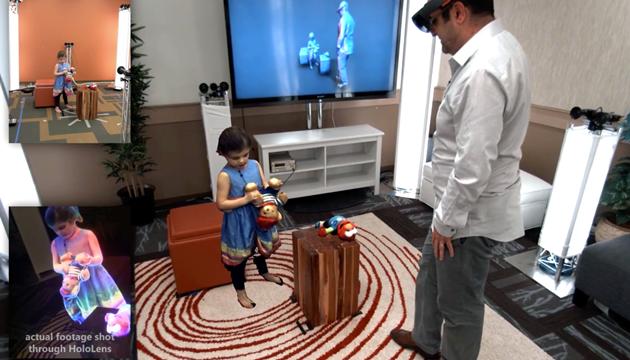HoloLens ile Holografik İletişim Gerçekleştirildi