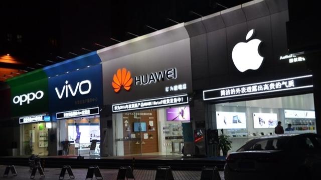 Çinli Telefon Üreticileri Samsung ve Apple'ı Yakalamak Üzere