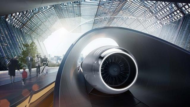 Hyperloop One En Yüksek Hızına Ulaşmayı Başardı