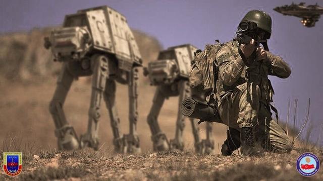 Jandarma, Star Wars Sloganıyla Sosyal Medyayı Salladı