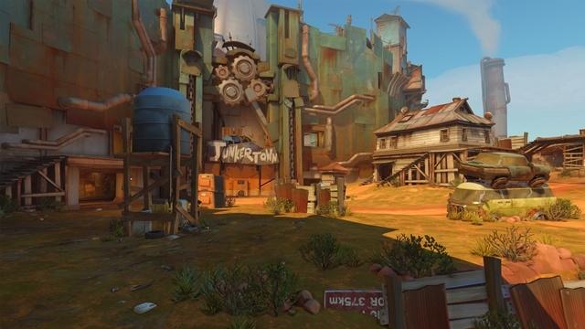 Overwatch'un Yeni Haritası Junkertown Çıktı!