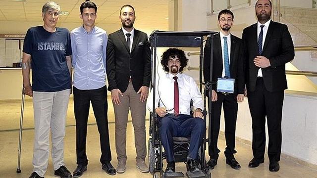 Öğrencilerden Engelliler İçin Büyük Adım