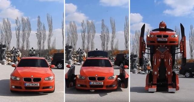 Türk Mühendisler Sürülebilir Transformer BMW Yaptı