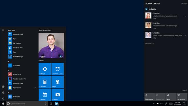 LinkedIn'in Masaüstü Uygulaması Windows 10'a Geliyor
