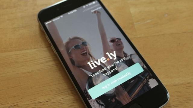 Live.ly, Messenger ve Snapchat'i Geride Bıraktı