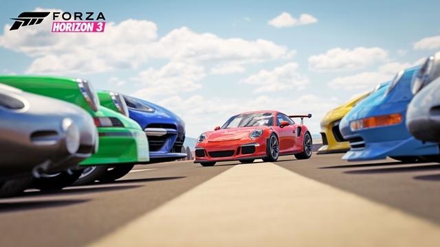 Forza Horizon ile Porsche Bir Araya Geldi