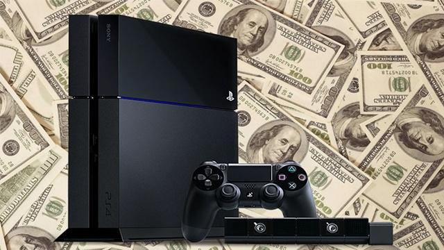Playstation 4, Sony'nin Gelirlerini Yüzde 78 Arttırmış