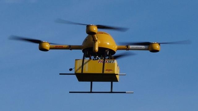 PTT Drone ile Kargo Teslimatına Hazırlanıyor