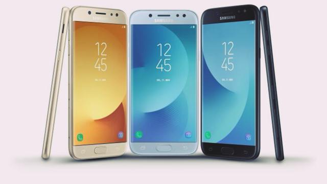 Samsung Galaxy J3, J5 ve J7 (2017) Resmi Olarak Duyuruldu