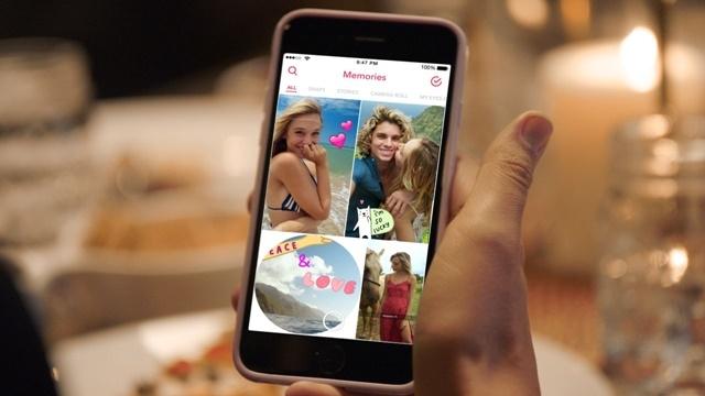 Snapchat Memories Tanıtıldı