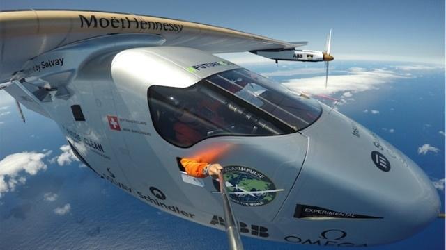 Güneş Enerjili Uçak Atlantik'i Geçmeyi Başardı