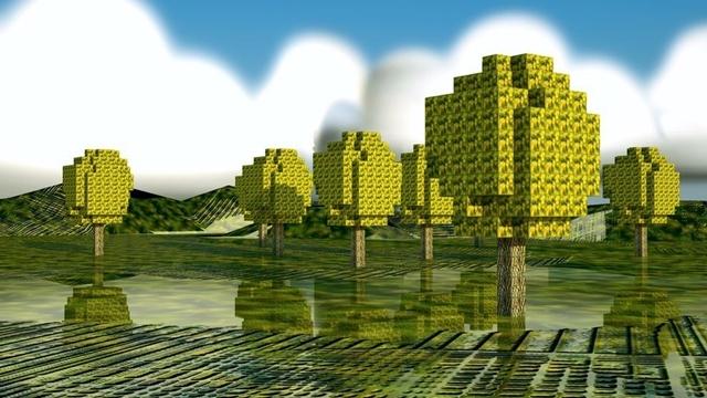 Okulunu Özleyen Liseli Minecraft'ta Harikalar Yarattı