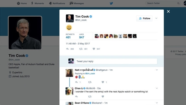 Apple'ın CEO'su Tim Cook Neden Güldü?