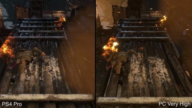 Tomb Raider'ın PS4 Pro ve PC Grafikleri Karşılaştırıldı