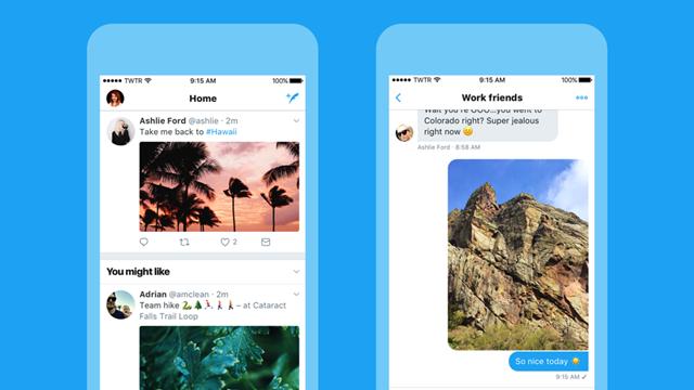Twitter, iOS'ta Baştan Aşağı Değişti