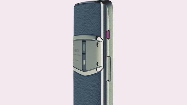 Kaçak Hakan Uzan'ın Telefonu Vertu'dan Yeni Model