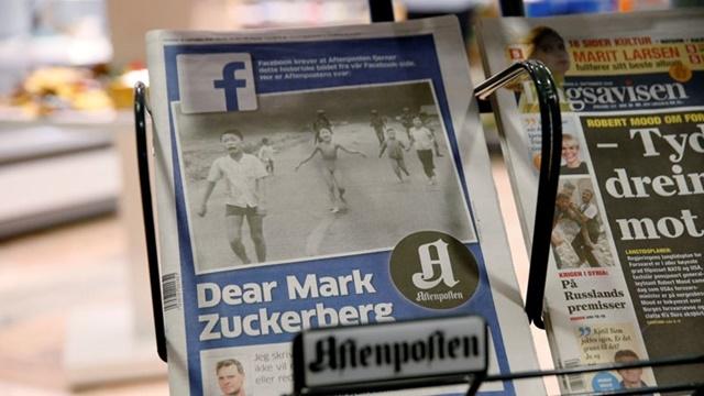 Facebook Norveç Başbakanını da Sansürledi