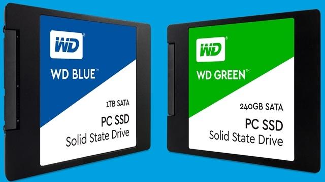 Western Digital İlk SSD Modellerini Duyurdu