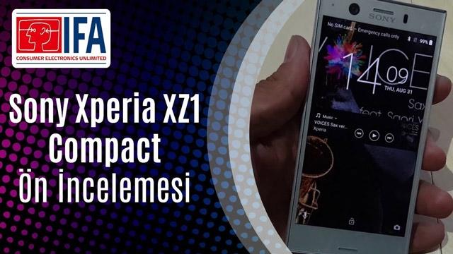 Sony Xperia XZ1 Compact Ön İnceleme