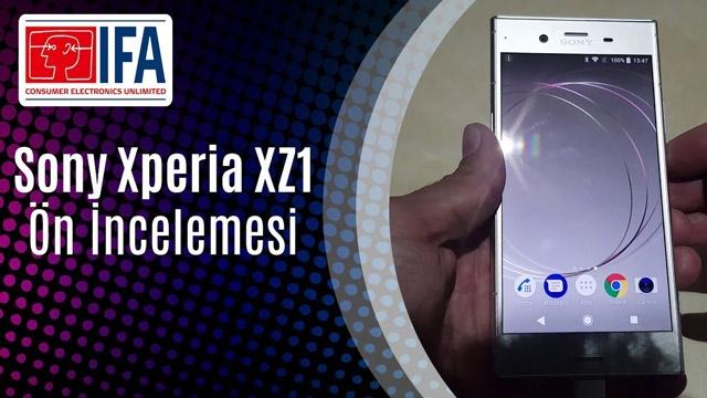 Sony Xperia XZ1 Ön İnceleme