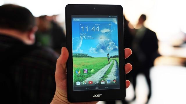 Acer'dan Çocuklara Özel Tablet: Iconia One 8