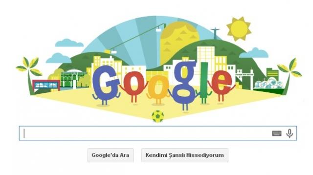 Google Özel Doodle ile Dünya Kupasına Hazır